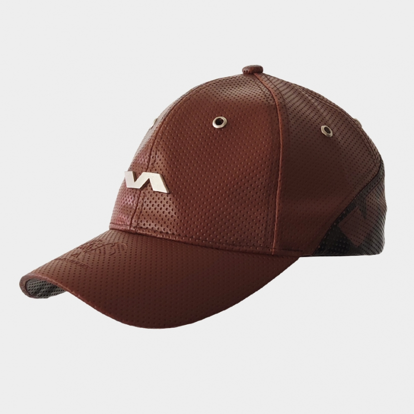 Ambassador Cap brown/grey