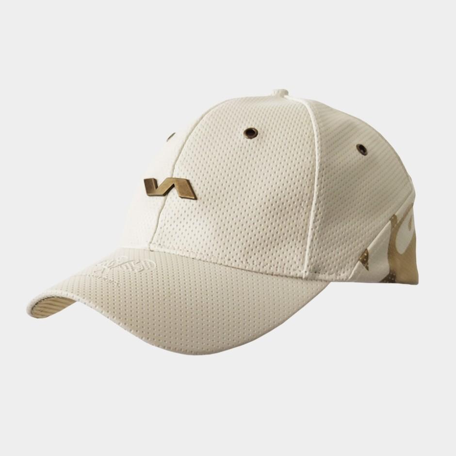 Gorra Ambassadors blanco/dorado