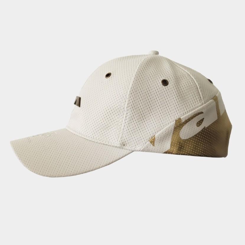 Ambassador Cap white/gold